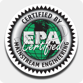 12 in. 'EPA Certified' Truck Decal