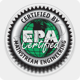 'EPA Certified' Window Decal (608/609 Only)