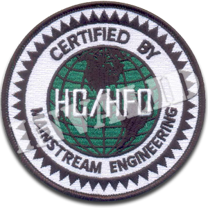 'HC/HFO Certified' Iron-On Patch Single Pack