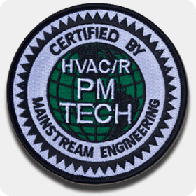 'PM Tech Certified' Iron-On Patch - Single Pack