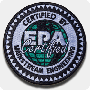 'EPA Certified' Iron-On Patch - Single Pack (608/609)