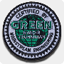 Green HVAC/R Iron-On Patch Single Pack
