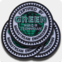 Green HVAC/R Iron-On Patch 3/pk