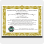 Green HVAC/R Wall Certificate