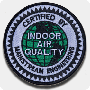 'IAQ Certified' Iron-On Patch - Single Pack