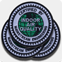 'IAQ Certified' Iron-On Patches - 3 Pack