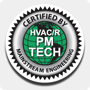 12 in. 'PM Tech Certified' Truck Decal