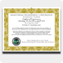R-410A Wall Certificate